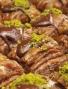 Schoko-Baklava mit Pistazienfüllung