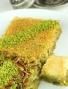 Pistazien-Engelshaar gemischt mit Pistazienbaklava