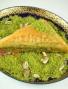 Dreieck-Baklava mit Pistazien