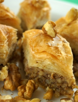 Arabisches Walnuss-Baklava - baklava7.de