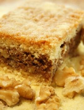 Grießkuchen mit Walnuss - Baklava7.de