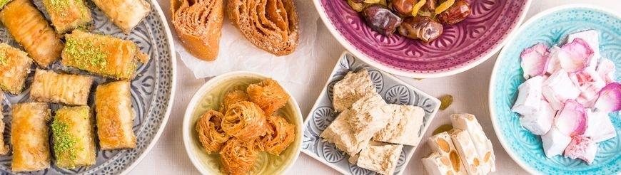 Arabische Süßspeisen aus Deutschland, mit Original-Rezeptur.